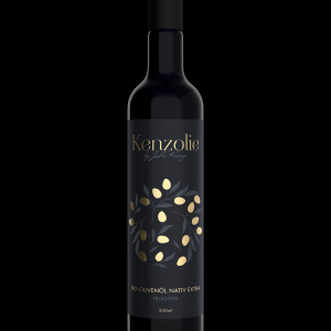 Vorderseite Bio-Olivenöl Nativ Extra