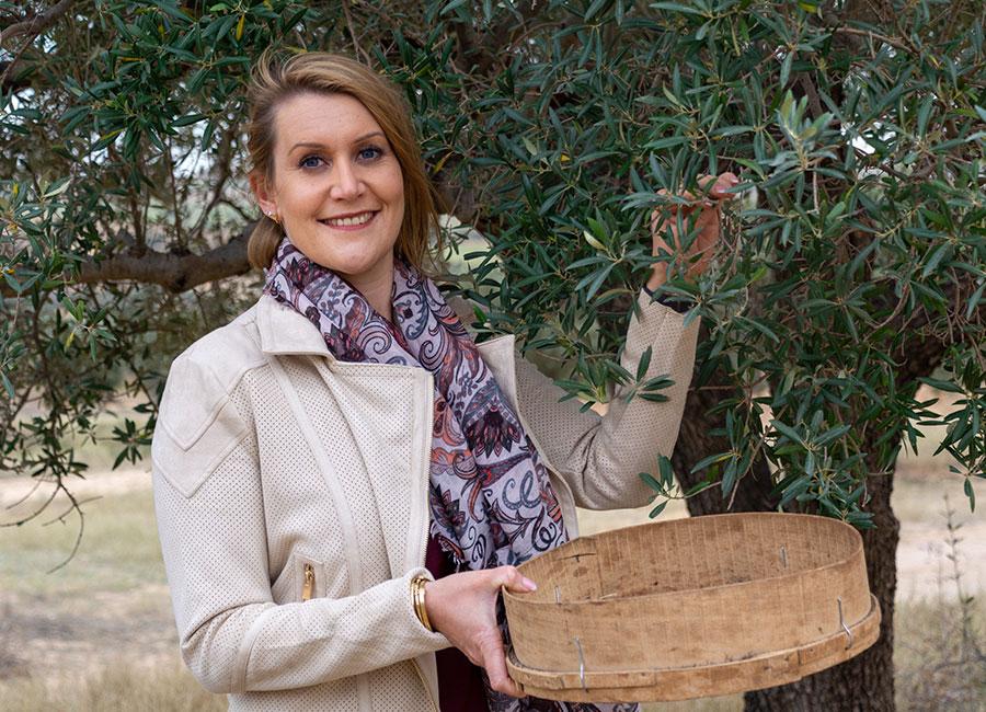 Handgepflückte Oliven von Julia Komp